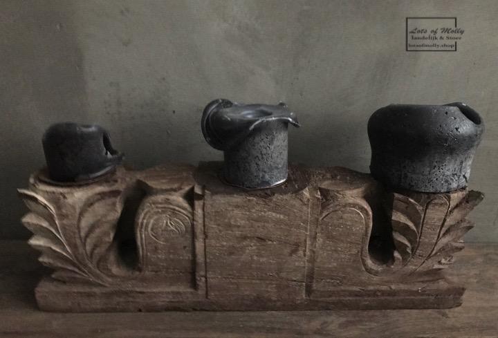 Kandelaar van oud ornament