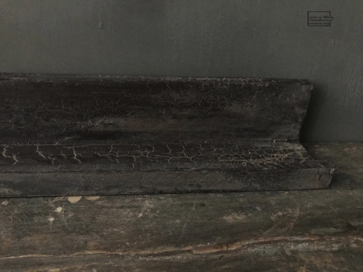 Houten wandplank (profiel) bruin