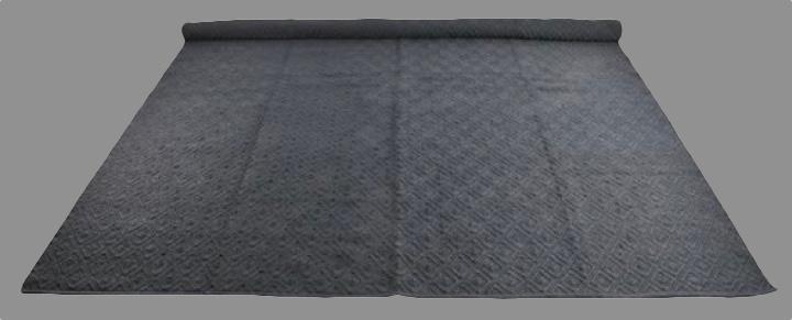 Vloerkleed donker grijs