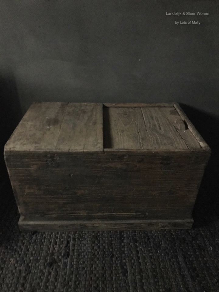 Authentieke oude kist China