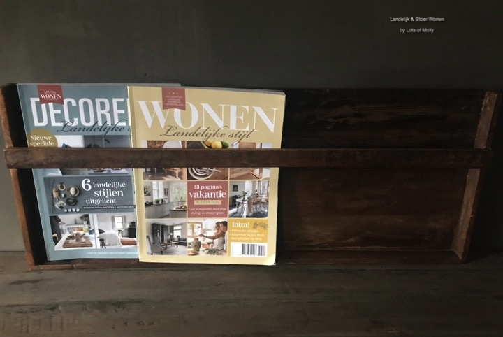 Factory magazine houder