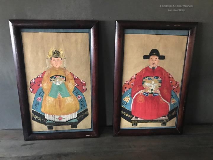 Schilderij China