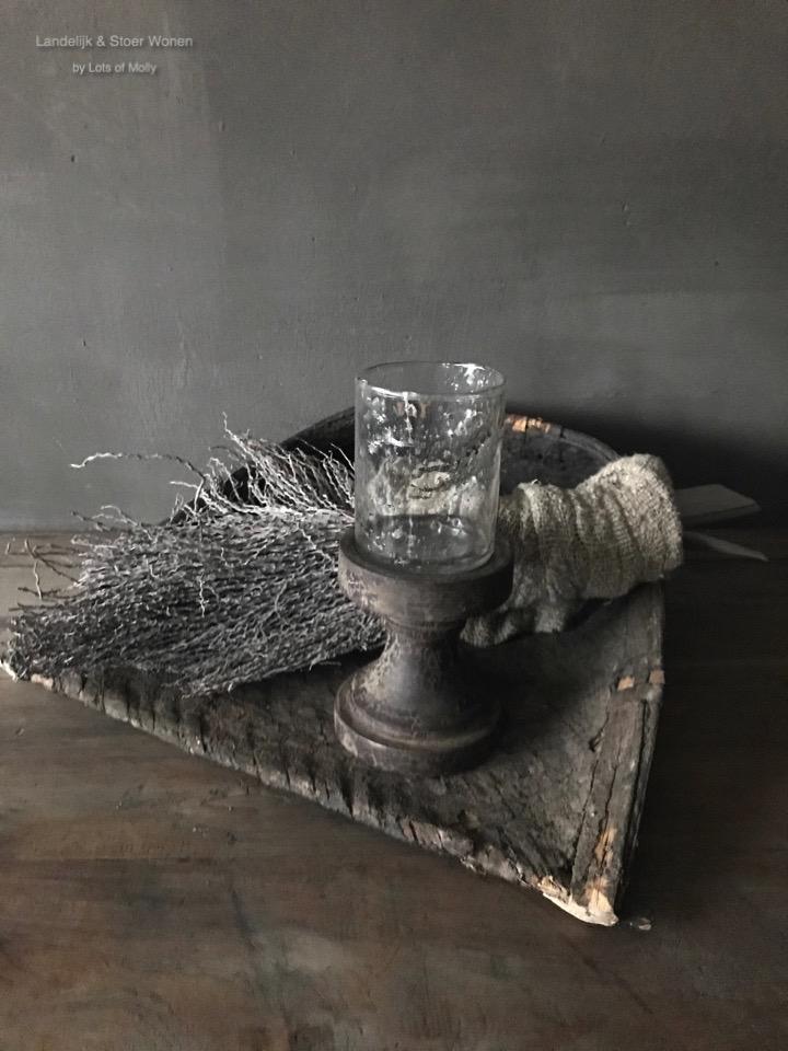 Waxineglas op voet