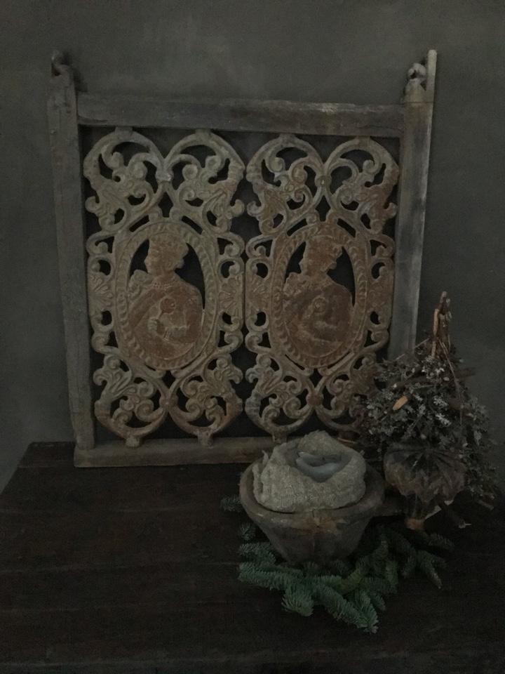 Origineel oud jali paneel India